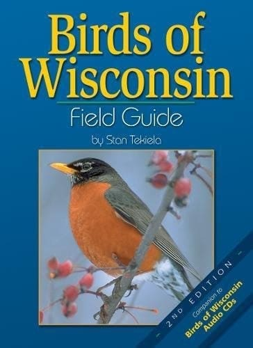 Birds of Wisconsin Interactive Guide - This book features 111 species of Wisconsin birds, organized by color for ease of use. Do you see a yellow bird and don't know what it is? Go to the yellow section to find out. Fact-filled information, a compare feature, range maps, and detailed photographs