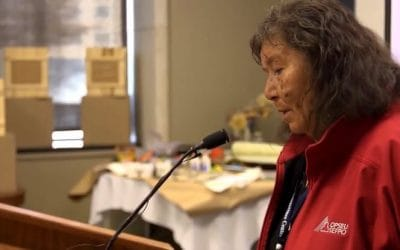 Video: Grandmother Josephine Mandamin Speaks, Great Lakes Commons Gathering
