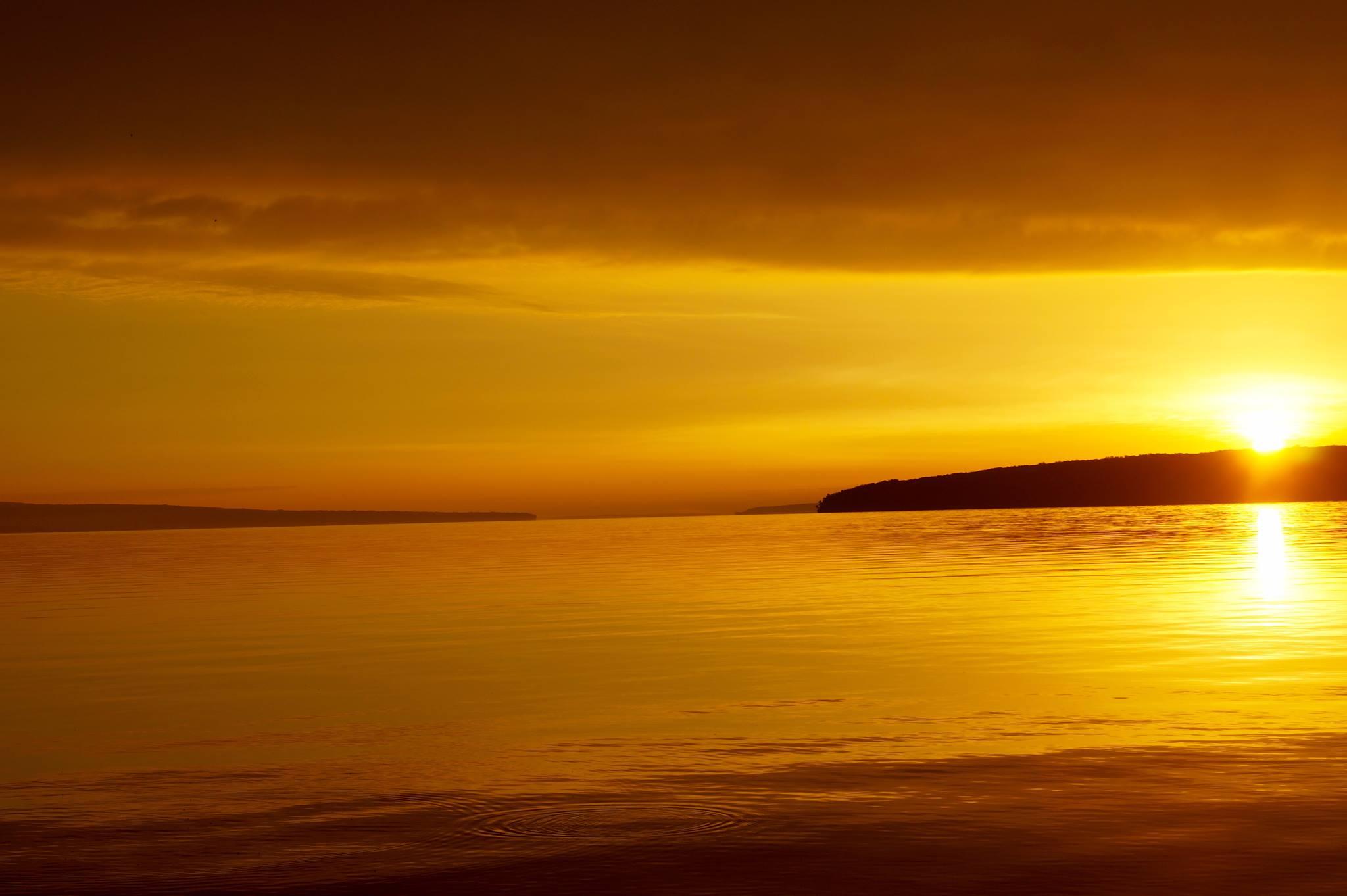West Channel Sunrise